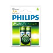 Pilha Philips Re 2/aa 1600mah